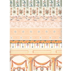18-Sheet Peach/Coral Wallpaper Assortment
