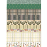18-Sheet Green Wallpaper Assortment