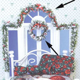 2-Pc Festive Swag and Wreath Set