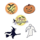Five Halloween Transparencies
