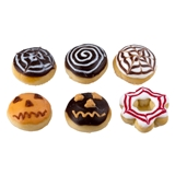 Six Halloween Donuts and Pastries