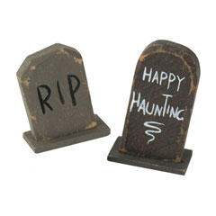 Happy Haunting and RIP Tombstones