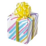 Yellow Single Wrapped Gift