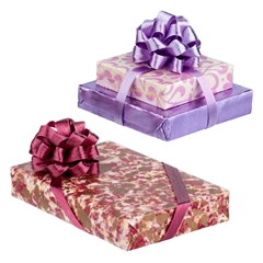 Burgundy and Purple Wrapped Gift Set