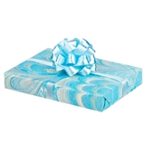 Light Blue Wrapped Gift