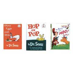3-Pc Dr. Seuss Book Set
