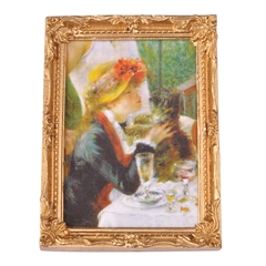 Luncheon of the Boating Party Framed Print