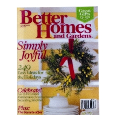 "Better Homes and Gardens ""Simply Joyful"" Magazine"