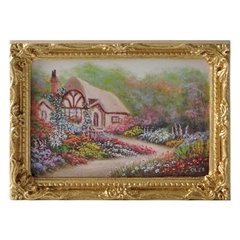 Cleo's Cottage (Large Framed Print)