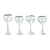 Four Cocktail Glasses