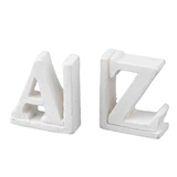 A Pair of A and Z Bookends