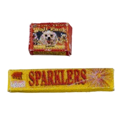 Snaps and Sparklers Set