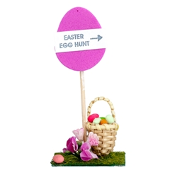 """Easter Egg Hunt"" Sign"