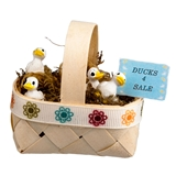 """Ducks 4 Sale"" Basket"