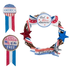 Patriotic Decorating Trio