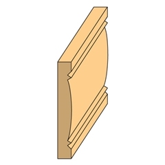 Door & Window Casing 1/4