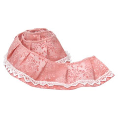 Pink Willow Dust Ruffle