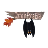 """Come in for a Bite!"" Sign"