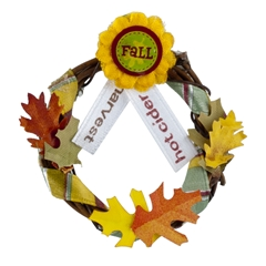 Fall Favorites Wreath