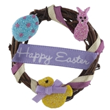 """Happy Easter"" Wreath"