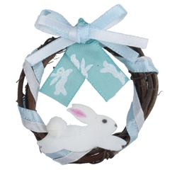 """Here Comes Peter Cottontail"" Wreath"