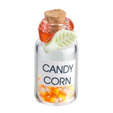 Large Jar with Candy Corn