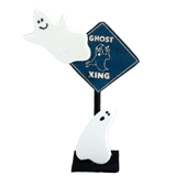 """Ghost Xing"" Sign"