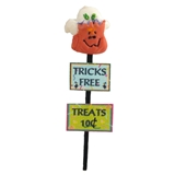 Tricks and Treats Yard Stake