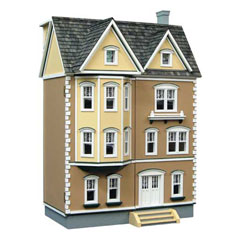 "1/2"" Scale East Side Townhouse Dollhouse"