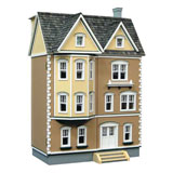 1/2 inch Scale East Side Townhouse Dollhouse