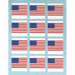 12 Flag Stickers