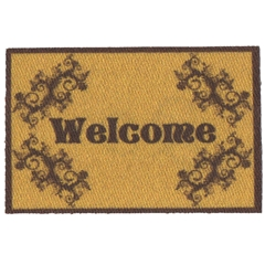 Scrolly Welcome Mat