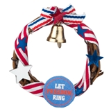 Let Freedom Ring Wreath