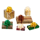 6-Pc. Colorful Gold Wrapped Gift Set