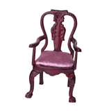 1/2 inch Scale George III Armchair