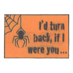"""I'd Turn Back…"" Doormat"