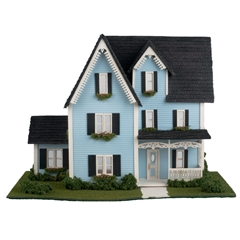 1/48 Scale Victorian Dollhouse Kit