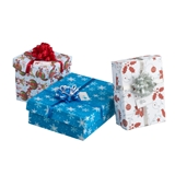 Blue, Red and Green 3-Pc. Gift Box Sets