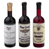Pinot Noir, Cabernet and Chianti Wine Set