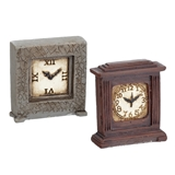 Pair of Now and Then Clocks Set