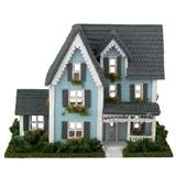 1/144 Scale Victorian Dollhouse Kit