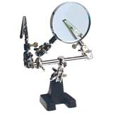 Extra Hands with Magnifier