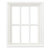 1/24 Scale Victorian 6-Pane Window
