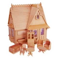 The Storybook Dollhouse Cottage by Greenleaf