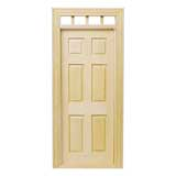 6-Panel Traditional Door