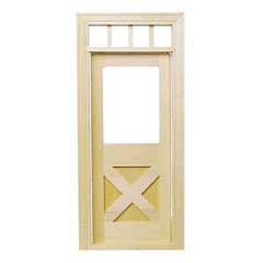 Crossbuck Door
