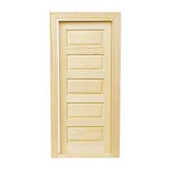 5-Panel Traditional Door
