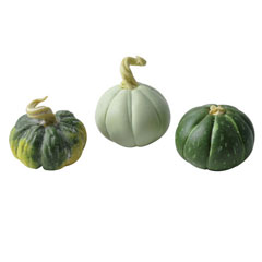 Three Green Gourds