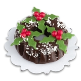 Chocolate Plum Pudding Cake