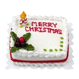Merry Christmas Sheet Cake